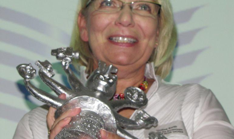 """""""Multitalentino"""" 2010 für Undine Kurth"""