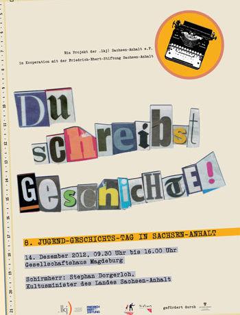 """Du schreibst Geschichte"" - 8. Jugend-Geschichts-Tag"