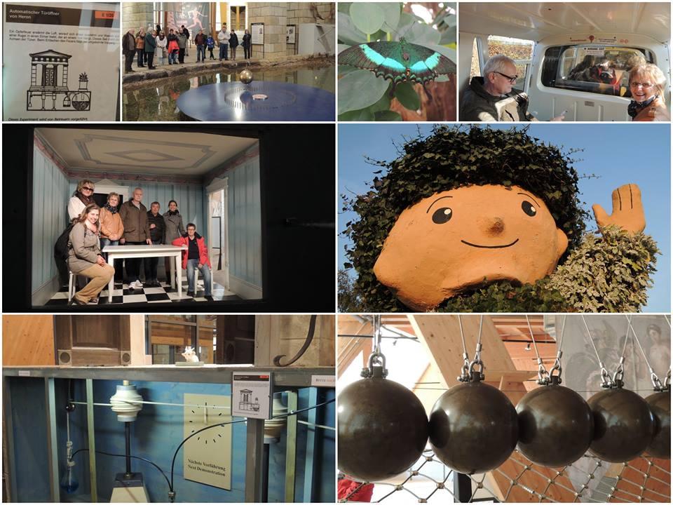 BFD Bildungstag Elbauenpark Collage