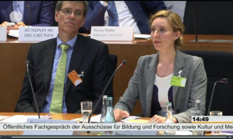 Große Zustimmung für Kulturelle Bildung im Bundestag