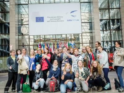 Jugendgruppen aus Sachsen-Anhalt nahmen an Studienfahrt nach Brüssel teil