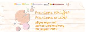 Auf- und Abgesang 2016 // Banner