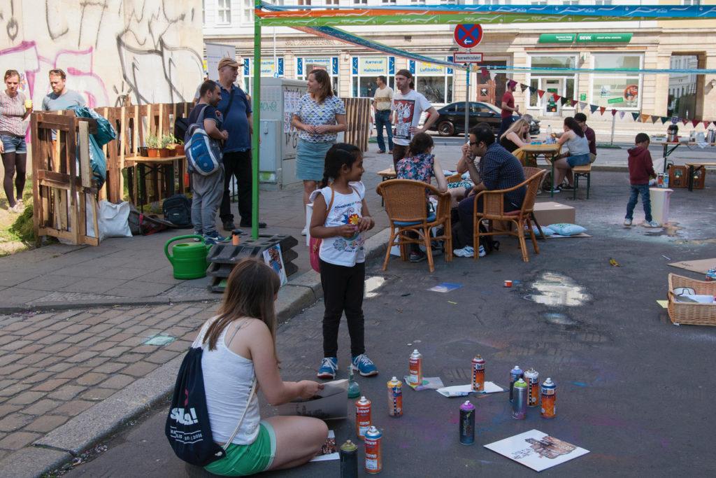 Kreativität und gute Laune auf dem Kulturaktionstag