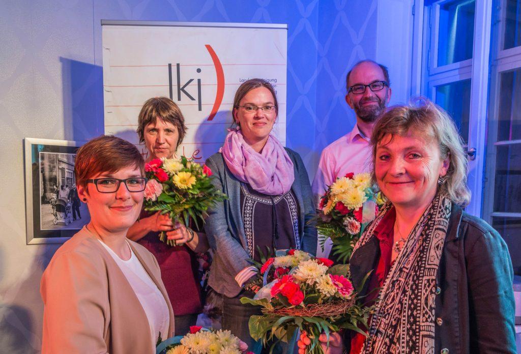 Der für drei Jahre gewählte Vorstand der .lkj) Sachsen-Anhalt e. V.