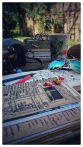Workshop: Art journaling und (Reise-)Tagebücher @ .lkj) Sachsen-Anhalt e.V.