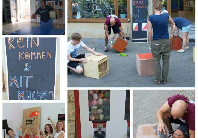 Der POWladen - 3 Wochen Kreativaction in Magdeburg