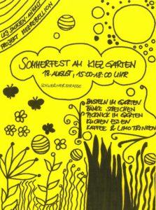 Sommerfest am Kiezgarten @ KIEZgarten