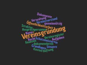 Vereinsgründung - Vereinsmanagement und Vereinsrecht @ .lkj Sachsen-Anhalt e.V.