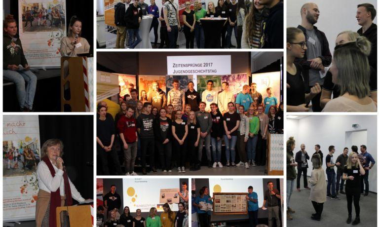 Rückblick: das Zeitensprünge-Projekt 2017 und der 12. Jugendgeschichtstag