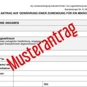 Antragswerkstatt für die Antragsstellung von Mikroprojekten beim Resonanzboden // House of Recources @ .lkj) Sachsen-Anhalt e.V.
