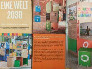 Ausstellung EINE WELT 2030 @ Forum Gestaltung