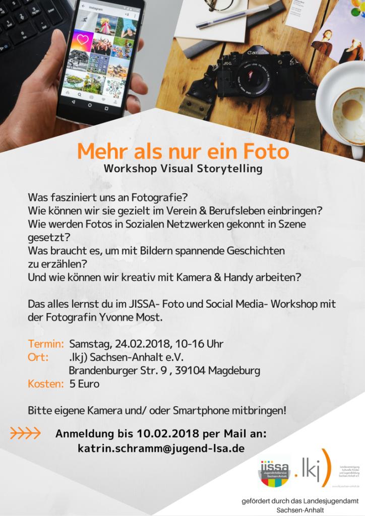 JISSA Foto- und Social Media-Workshop @ .lkj) Sachsen-Anhalt e.V.
