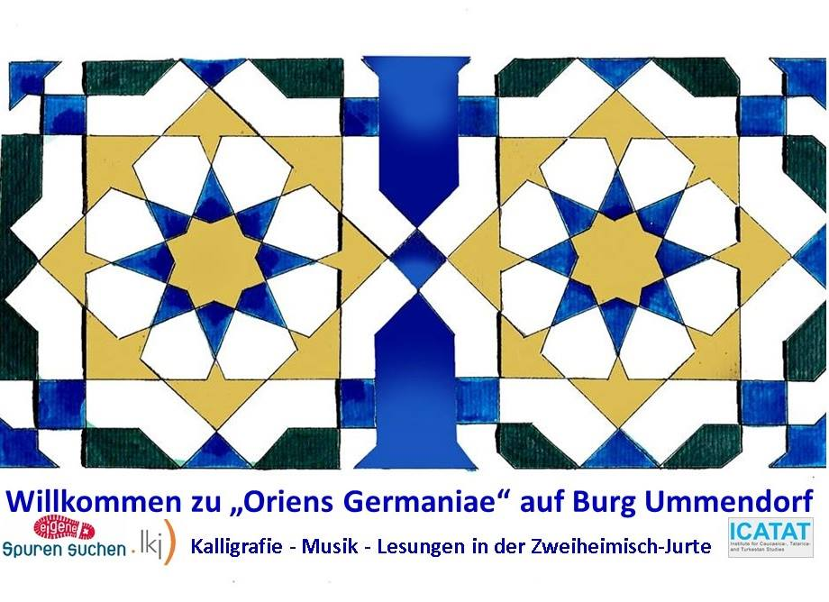 Orient trifft Okzident in der Kultur-Jurte @ Ummendorf, Festwiese