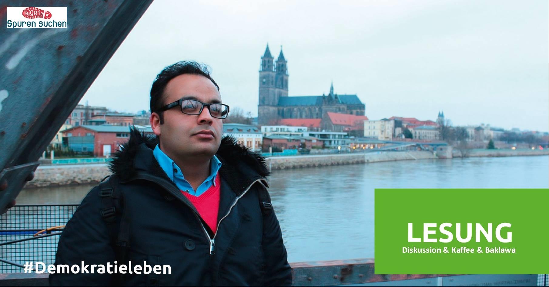 """""""Fackel der Angst - Von Homs nach Magdeburg"""", Lesung & Gespräch mit Ammar Awaniy @ Kinder- und Jugendtreff Mühle"""