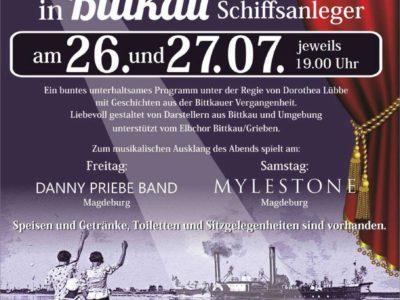 Freilufttheater in Bittkau an der Elbe