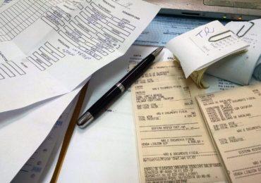 Quittungen und Belege für Buchhaltung