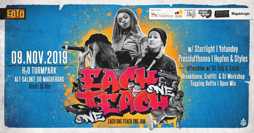 Each One Teach One Jam 2019