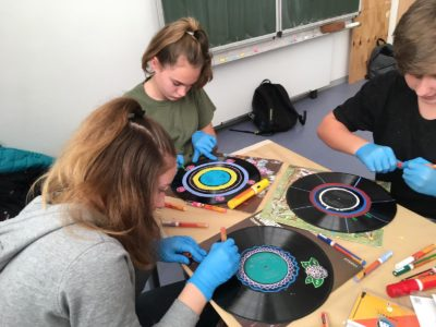 Upcycling und Tape Art