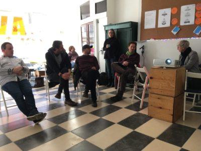 Treffen der Quartiermanager*innen