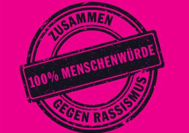 Plkatmotiv Internationale Wochen gegen Rassismus in Magdeburg 2020