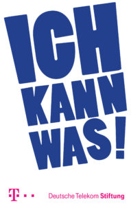 Logo Ich kann was Initiative der Telekom-Stiftung