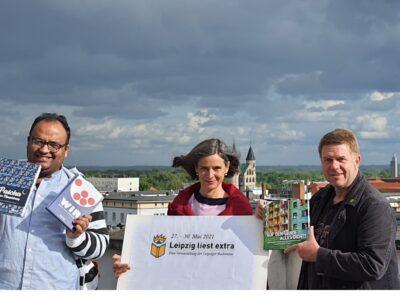Wir lesen doch!  Magdeburger Autor*innen und Bücher auf der Buchmesse Leipzig und zur Langen Nacht der Wissenschaft in Magdeburg
